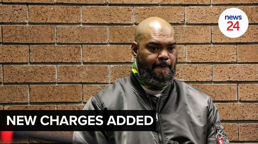 WATCH | #UnrestSA: West Rand politician Bruce Nimmerhoudt charged with terrorism