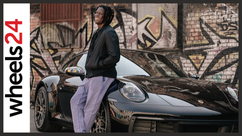 A moving masterpiece: artist Nelson Makamo and his one-off Porsche 911 Carrera