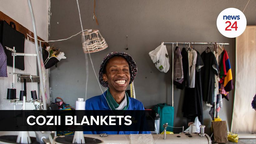WATCH | Twenty-two-year-old begins blanket company to fund studies after NSFAS knock-back