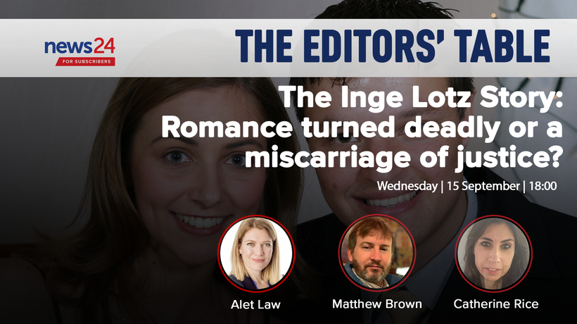 WATCH LIVE | Editors' Table: The Inge Lotz Story - A Miscarriage of Justice?