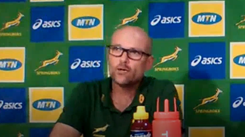 Jacques Nienaber and Boks take criticism in stride: 'It means people care about this team'