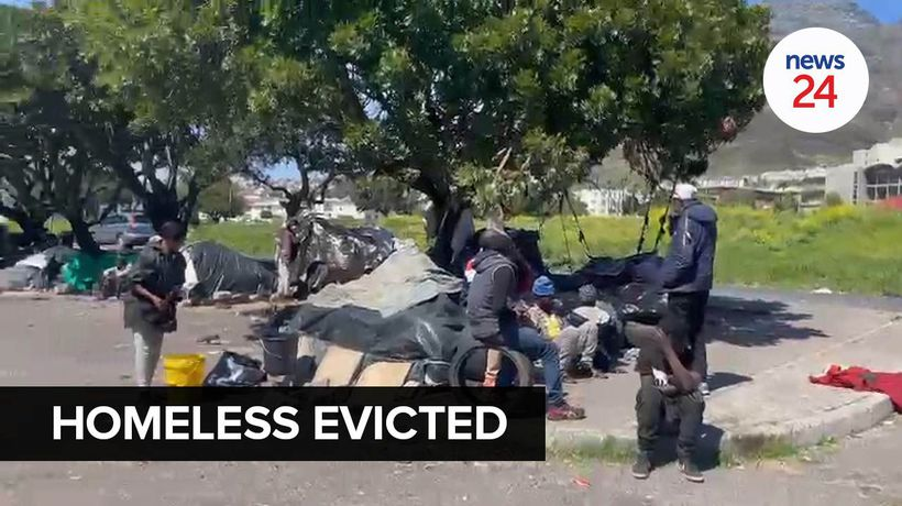 WATCH | Homeless evicted in District Six loses everything during massive operation