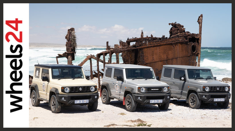 Chasing shipwrecks and other Northern Cape wonders in the capable Suzuki Jimny