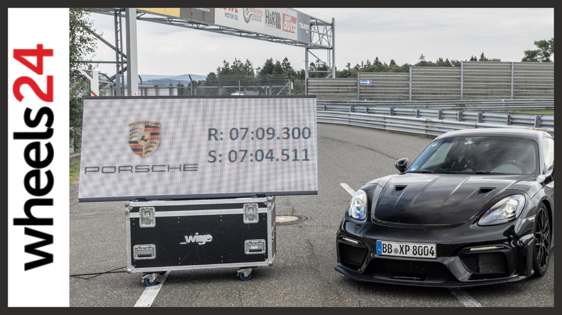 2022 Porsche 718 Cayman GT4 RS sets blistering time around the Nürburgring