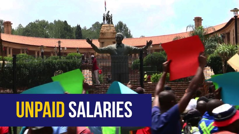 WATCH: NUM challenges government to save jobs at Optimum mine
