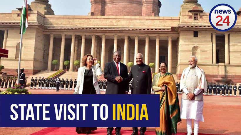 WATCH: Cyril Ramaphosa speaking at the start of his official state visit in India
