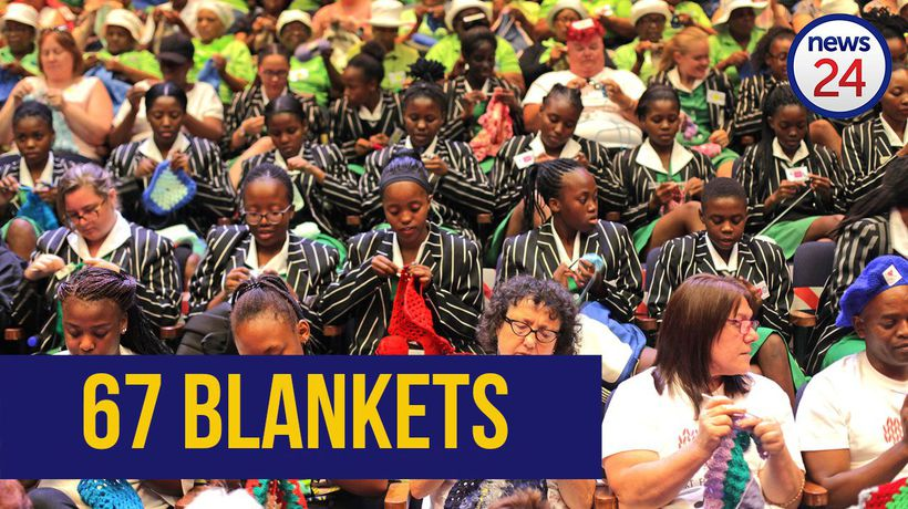 WATCH: 'Knitwits for Madiba' - South Africans crochet their way to world record