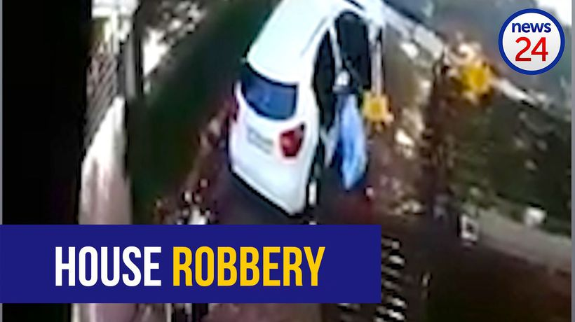 WATCH: House robbers make off with goods, cash worth R200 000