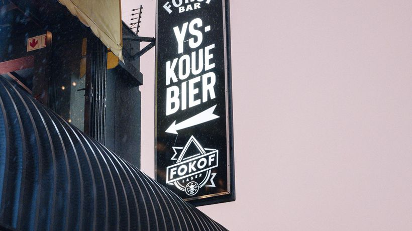 We go inside Fokofpolisiekar's new bar: 'We want puke on the walls and chips on the floor'