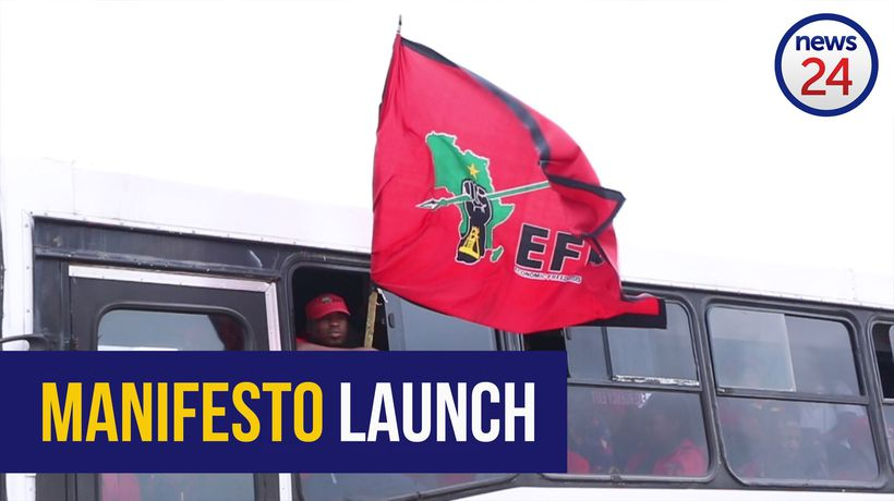 WATCH: 'EFF is the only alternative' - supporter at manifesto launch