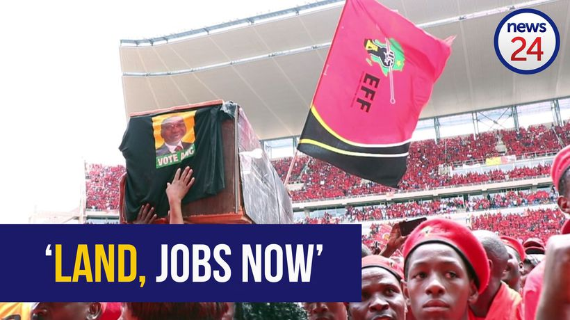 WATCH: 'Our land and jobs now!' - EFF launches election manifesto
