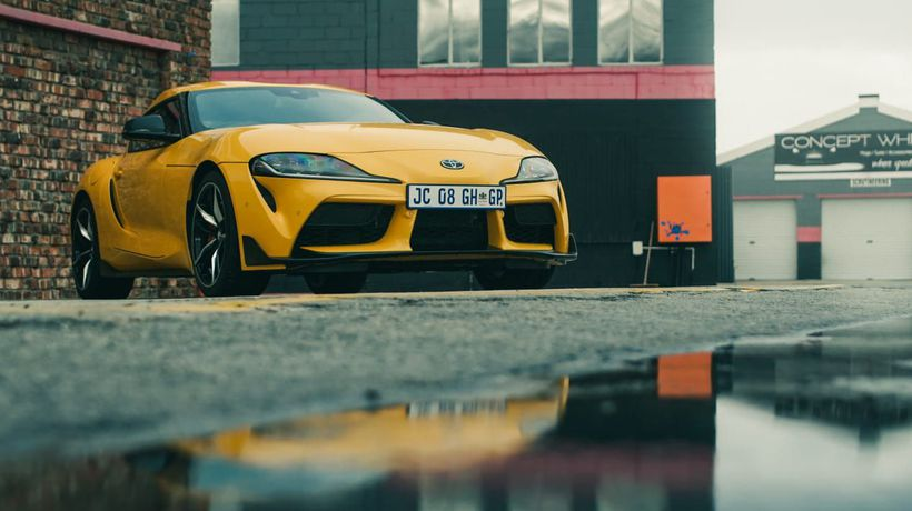 The new Toyota GR Supra hits the track in SA