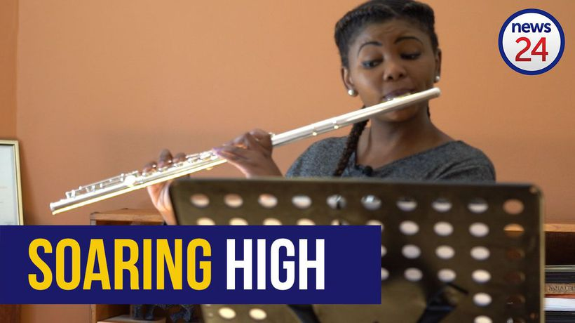 WATCH: Soweto flautist hits the right notes, first African to win international music award