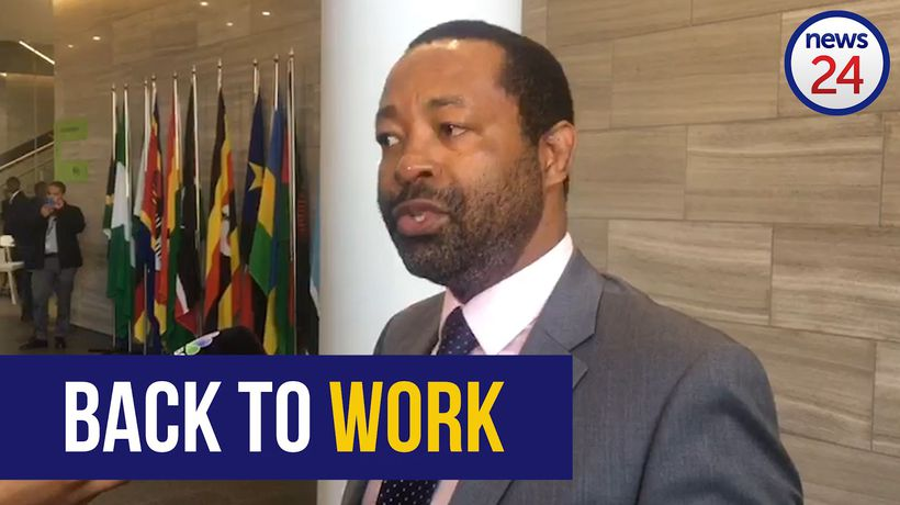 WATCH: Moyo's lawyer Eric Mabuza explains why Moyo should return to work today