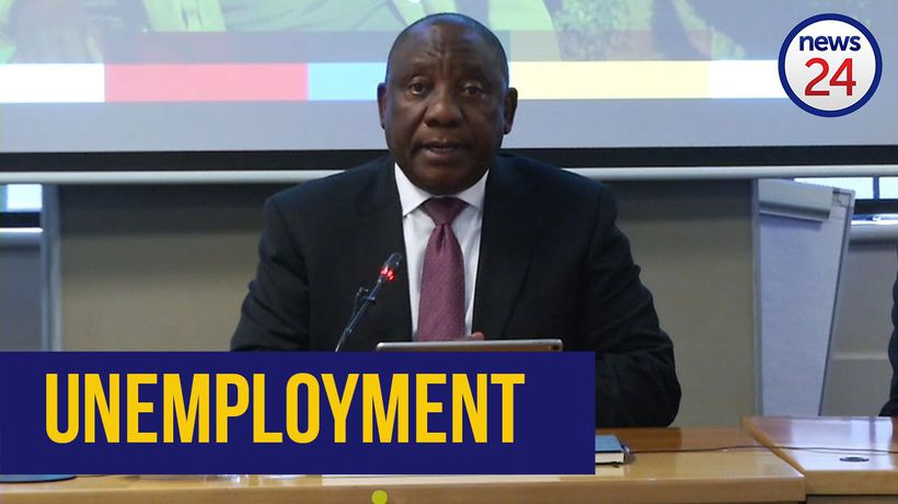 WATCH: 'We are in a deep and serious crisis' - Ramaphosa on unemployment rate