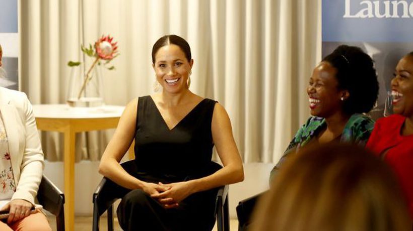 Matsi Modise tells us about meeting Her Royal Highness, The Duchess of Sussex, in Cape Town