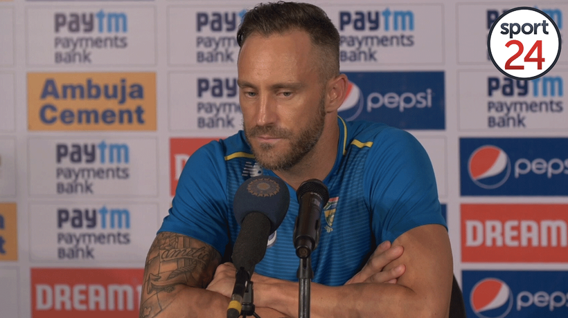 'Hurting' Faf says that the Proteas have let ourselves down