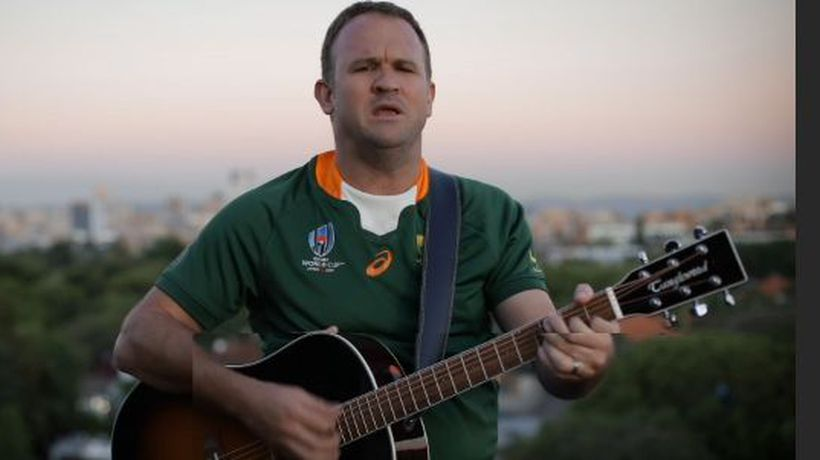 Robbie Wessels' song about Siya Kolisi will make you feel like we won The World Cup all over again