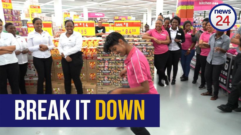 WATCH | Game staff jive to warm up before Black Friday rush