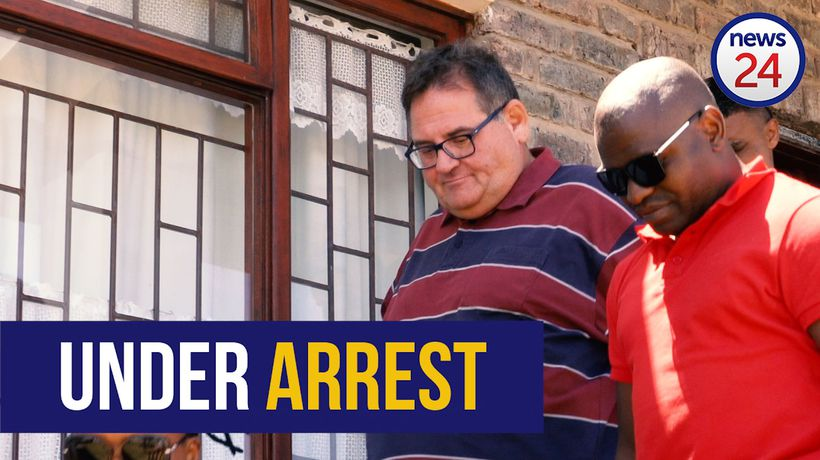 WATCH | Putting the cuffs on an alleged serial rapist - the arrest of Willem Breytenbach