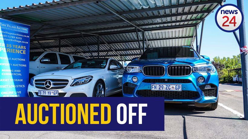 WATCH | Highest bidder bags Gavin Watson's X5 for R590k