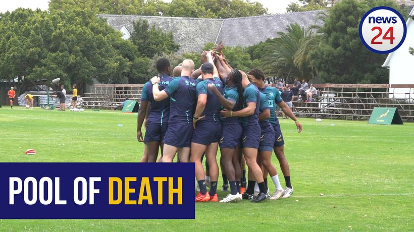 WATCH | Blitsboks gear up for 'Pool of Death' at Cape Town Sevens