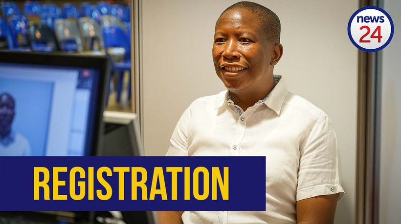 WATCH | Julius Malema registers for EFF's 2nd elective conference