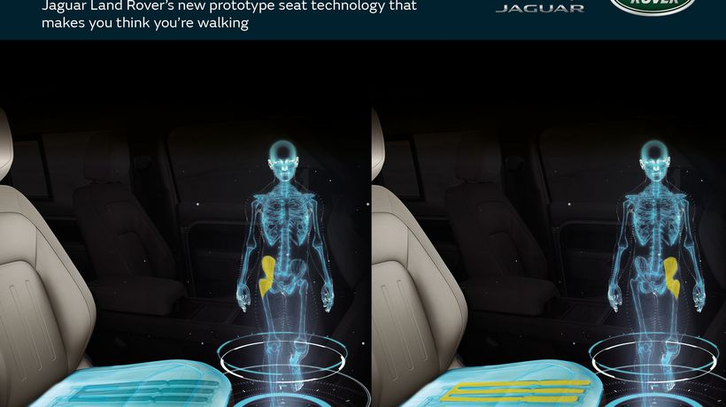 Jaguar Land Rover's innovative seat tech