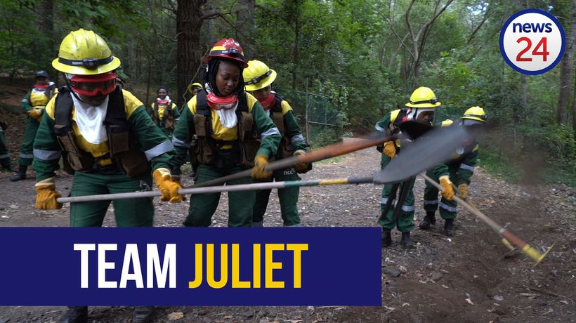 WATCH | Fighting fire with fire: Meet SA's very first all-female firefighting crew
