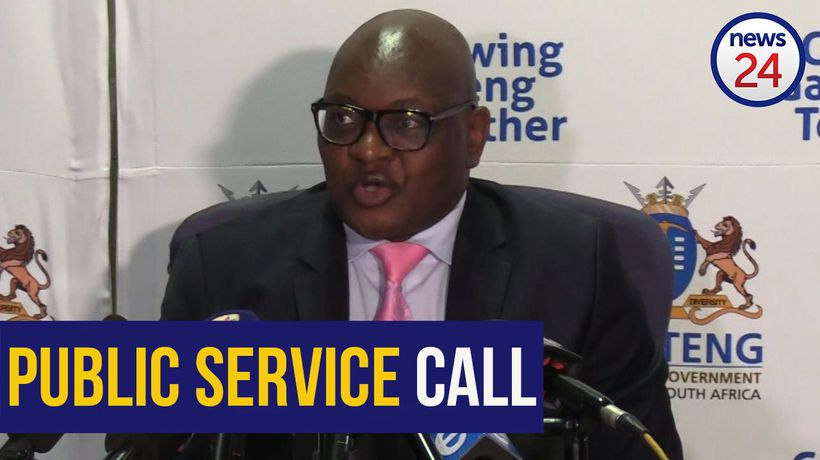 WATCH | Premier Makhura calls on retired health care workers to assist amid COVID-19 pandemic