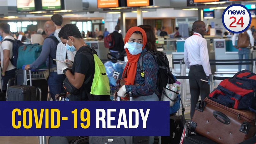 WATCH | Cape Town International Airport ready to combat Covid-19