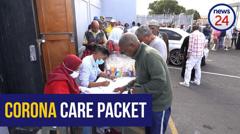 WATCH | Cape Town wholesaler provides elderly with free coronavirus care packages