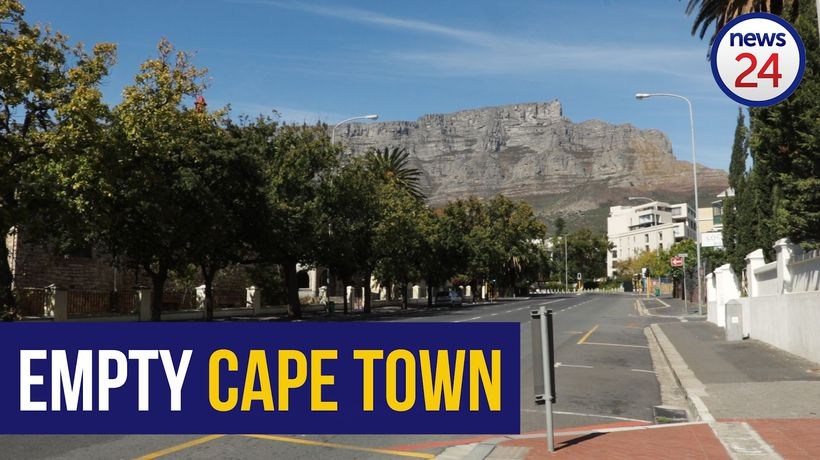 WATCH | Empty streets in Cape Town CBD as 21 day lockdown begins