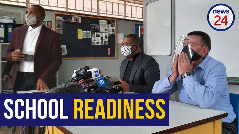 WATCH | 'We don't want a generation that will lose the academic programme because of Covid' - Lesufi
