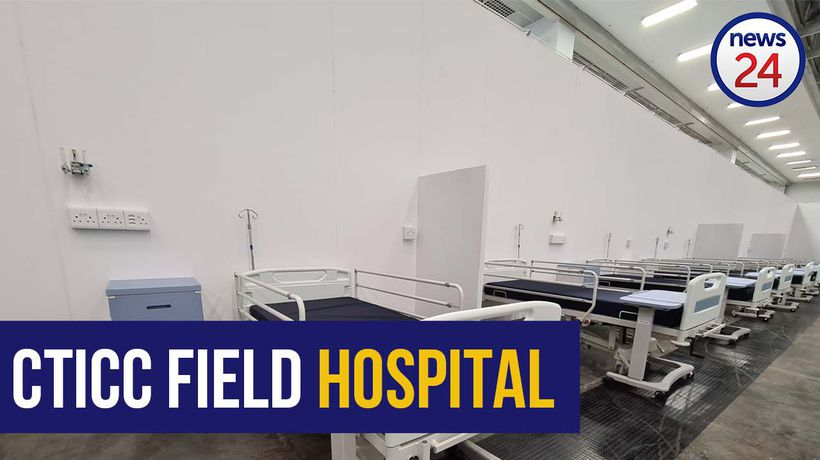 WATCH | A look inside the CTICC as it gets converted into field hospital
