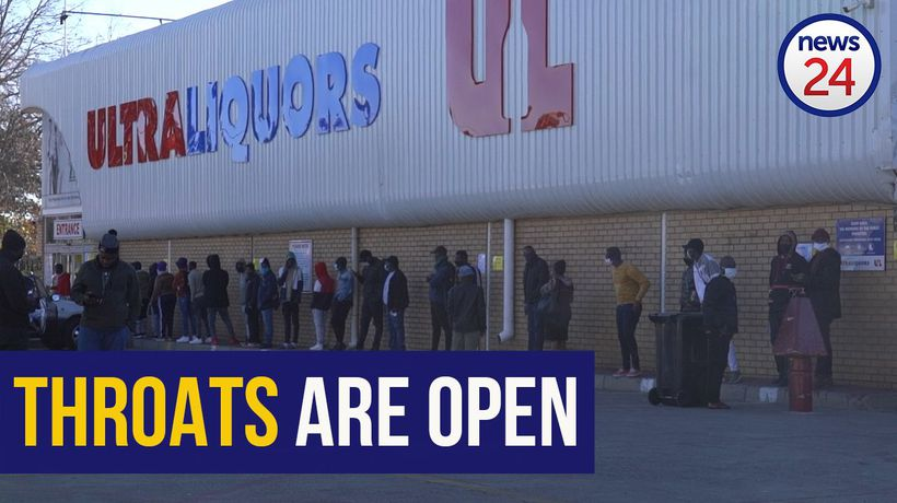 WATCH | Parched throats are being quenched as liquor stores re-open