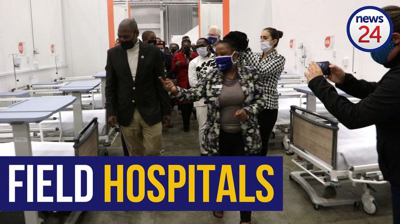 WATCH | More beds must be ready sooner Zweli Mkhize says during field hospital inspection in WC