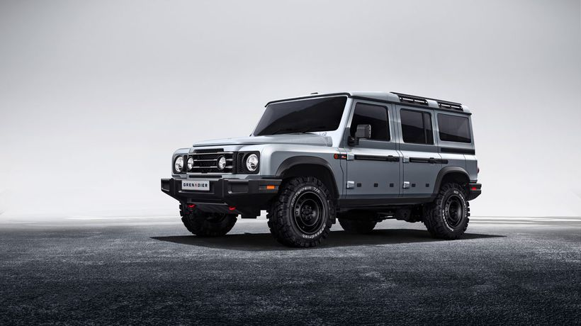 Ineos reveals its new 4x4: the Grenadier