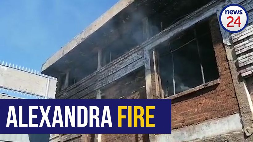 WATCH | 200 shacks in Alexandra destroyed in fire, leaving 50 families homeless