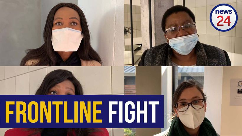 WATCH   'I'm not scared of losing my life' - Meet some of Gauteng's 'heroes' on Covid-19 frontline