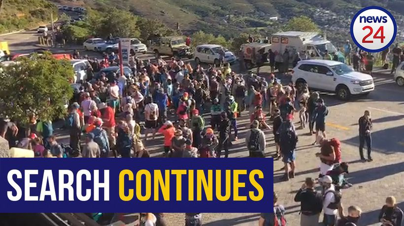 WATCH   Search for runner missing on Table Mountain continues