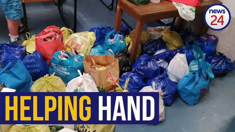 WATCH   Grade 11 pupils who donated matric dance funds to the needy, spark schools charity outreach