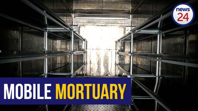 WATCH | SA's largest funeral home ropes in mobile mortuaries ahead of the Covid-19 peak