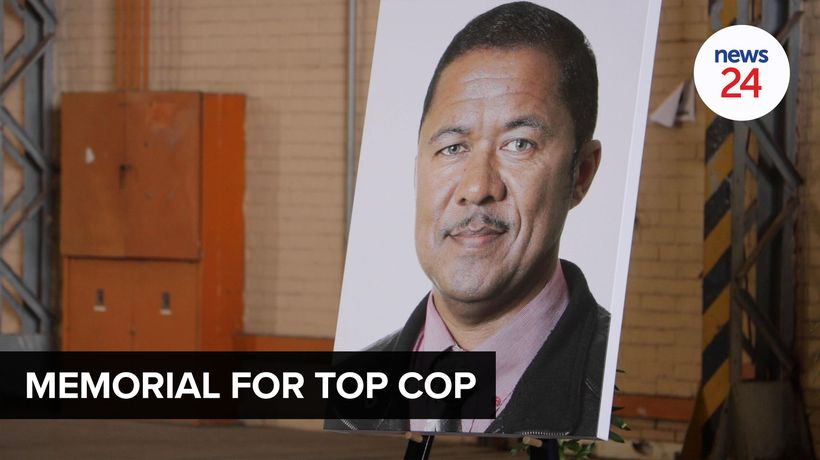 WATCH | Western Cape SAPS host special ceremony in memory of slain detective Charl Kinnear