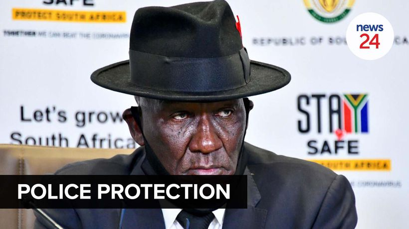 WATCH | Bheki Cele waiting for report on Charl Kinnear's protection detail