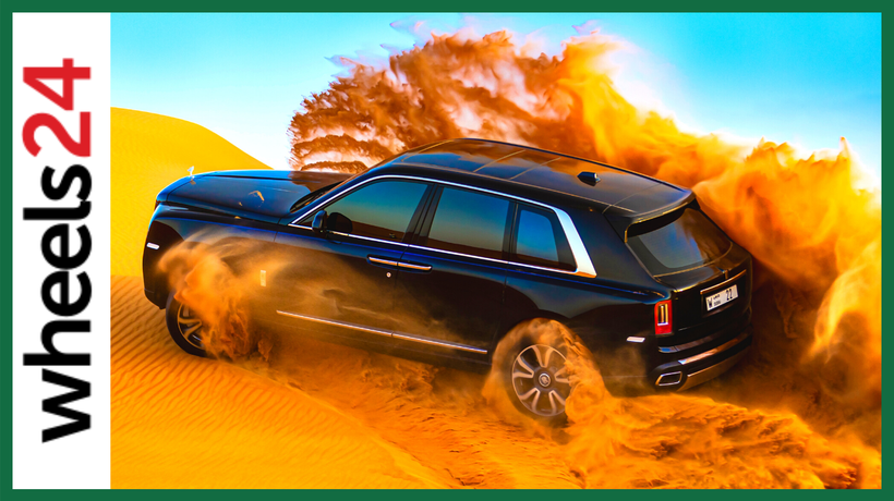 Rolls-Royce Cullinan takes to the dunes in spectacular fashion