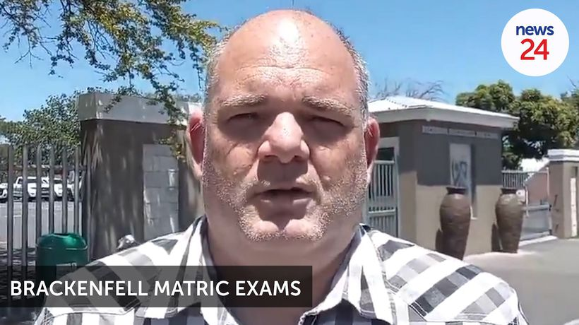 WATCH | Matrics wrote exams despite EFF and police clashing outside Brackenfell High School