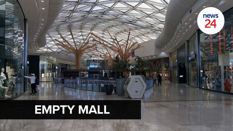 WATCH | No hustle and bustle at Mall of Africa as Black Friday kicks off
