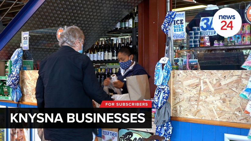 WATCH | Knysna businesses take a knock as coronavirus infections surge in the Garden Route