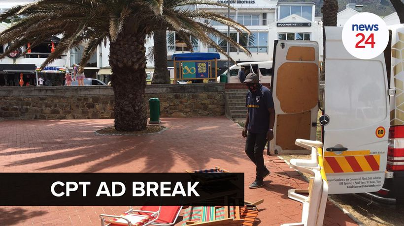 WATCH | Camps Bay television commercial shoot shut down for second day